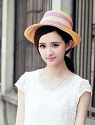 Nouveau style raphia paille dames en plein air / Casual / chapeaux de plage avec chaises-shading