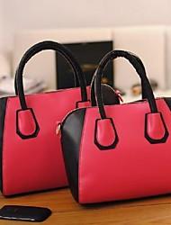Fashion Lady's Color Patchwork Tote Handbags wholesale