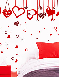 Blessed Heart Shaped Wall Stickers
