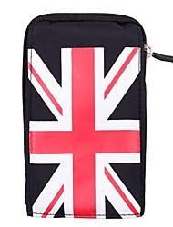 Unisexe UK Flag Waterproof Design Frabric sac de taille en soie (couleurs assorties)