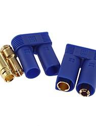 Homem Bala Feminino 1 Set EC5 Conectores Plugs nova marca