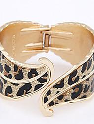 Opening Spring Foliage Color Matte Leopard Gold Bracelet Sp078 Bottom Leaves Money