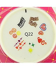 4.5cm Latest Designs Nail Art stamping Plate Silicone