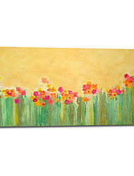 Hand Painted Oil Painting Floral Spring Flowers with Stretched Frame