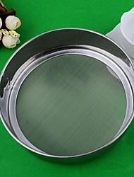 Stainless Steel 60 Mesh Rice Flour Sieve,Dia 15cm