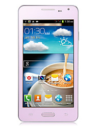 Cellulare smart 3G H9007 5.5, Android 4.2 (Dual Core, Dual Camera, WiFi, 512MB+4GB, Dual SIM)