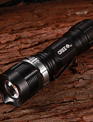NF-X8455 Flood-to-Throw-Zooming CREE Q3 WC 3-Mode 160Lumen LED-Taschenlampe mit Clip (1xAA/1x14500)