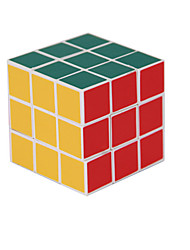 55mm 3x3x3 Speed Puzzle Magic Cube White Edge