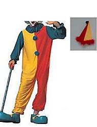 Haunted House Sammlung Clown Red Polyester Mens 'Halloween-Kostüm