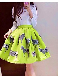 Women's Slim High Waist Tutu Skirt