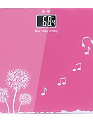 Einfache rosa Farbe Gesundheit Nützliche Badezimmer Körper-Gewicht-Skala