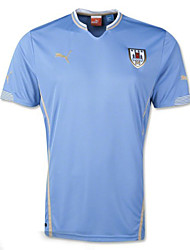 Men's SoccerJersey Short Sleeves Sky Blue