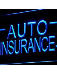 I793 Auto Insurance Auto Shop anzeigen Neonlicht-Zeichen