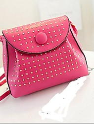 Nuove donne Rivet Shoulder Bag Handbag Messenger Bag