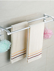 Contemporary Space Aluminium Double Towel Bar