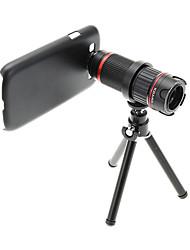 Увеличить 4-12X телефото Металл мобильного телефона объектива с треногой для Samsung S3