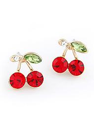 Sweet Cherry oro rosa orecchini honeybaby WOMEN'S