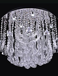 LED 1W 9 Light K9 Crystal Ceiling