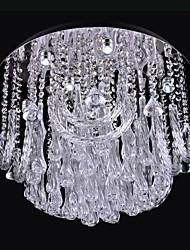 LED 1W 9 luce K9 soffitto di cristallo