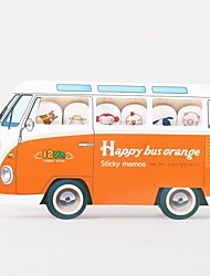Happy Bus Self-Stick Note (colore casuale)