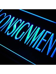 Consignment Services Neon Light Sign