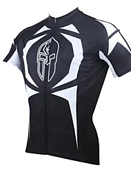 PALADIN® Cycling Jersey Men's Short Sleeve Bike Breathable / Quick Dry / Ultraviolet Resistant Jersey / Tops 100% PolyesterCartoon /