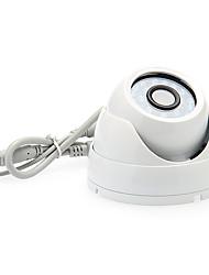 1/3 Sony couleur IR HD 600TVL 24LED Video Security dôme 4pcs adaptateur 12 Caméra V1A Power