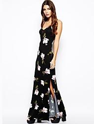 Haoduoyi ™ L'Orchidée Mesh épissure V corsets-robe