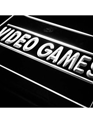 Video Games Shop Beer Bar Pub Neon Light Sign