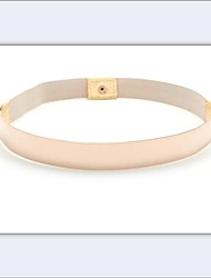Women's Fashion Elastic Metal Belt