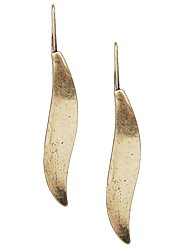 Venta JANE piedras calientes de moda del metal Pendientes lineal para Mujeres Accesorios