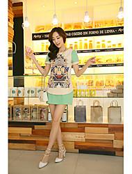 Qiaoman Women's Floral Dress 993-2