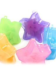 Forma de Estrella exterior Papel Jabón 10g (color al azar)