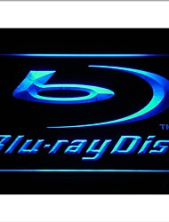 Blu-ray Disc Logo Display Neon Light Sign