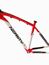 MB-NT02 MTB Bicycle Full Carbon Red+White Frame with NEASTY Decal