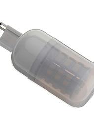 G9 3 W 48 SMD 3528 175 LM Warm White Corn Bulbs AC 110-130/AC 220-240 V