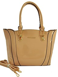 Femmes pur brevet ailes PU Leather Tote