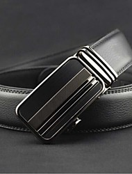 Men Wide Belt,Work / Casual Leather All Seasons