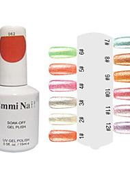 UV Color Gel Colorful Nail Art Nail Polish (15ml,1 Bottle)