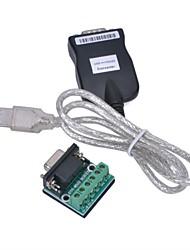 USB 2.0 auf RS-485 Konverter-Adapter - Schwarz