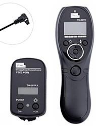 Pixel TW-282/N3 sem fio Timer Controle remoto para Select Câmera Canon Modelos