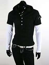 polos de moda de la moda coreana de los hombres