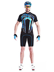 Men's Cycling Tops / Jerseys Short Sleeve Bike Spring / Summer Breathable / Quick Dry / Wearable / Windproof Black L / XL / XXL