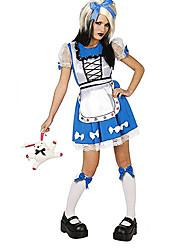 Сирена Стиль Алиса в стране чудес женского Хеллоуин костюм