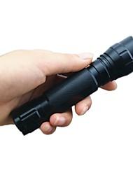 Hunterseyes ™ S501B-2-0-1 Cree XP-E R2 LED Lanterna com Clip (250ml, 1x18650) Black