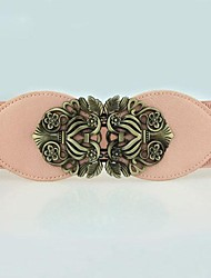 Women Wide Belt , Casual Leather