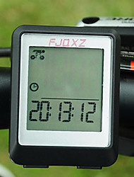 Bike Computer,FJQXZ Waterproof Wired LCD Black Bicycle Speedometer/Stopwatch