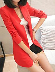 Tailor collier de couleur pleine Suit longues TWINSIX Blazer femme T13Qvo046