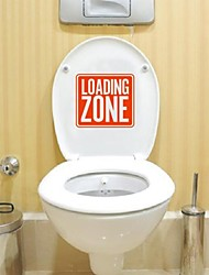 Chargement Still Life et affiché Stickers Muraux zone de déchargement toilettes