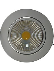 7W 600LM 1xCOB Blanco 6000K LED luces de techo